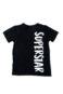 Camiseta Infantil Unissex de Manga Curta Pistol Star Superstar
