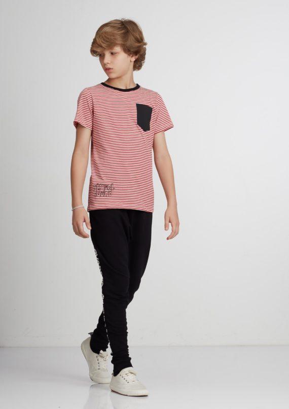 Camiseta Unissex de Manga curta Infantil Pistol Star Vico